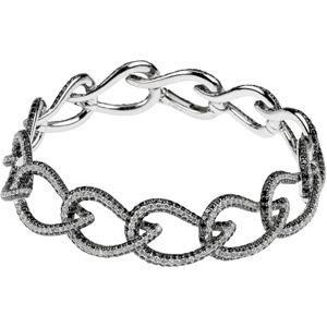 Diamond Bracelet in 14k White Gold (7.75 Ct. tw.) (7.75 Ct. tw.)