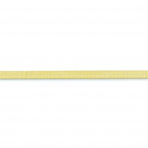 14k Yellow Gold 7 inch 5.00 mm Silky Herringbone Chain Bracelet