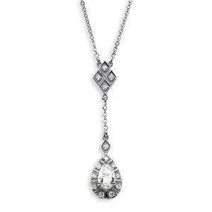 Moissanite Diamond Necklace